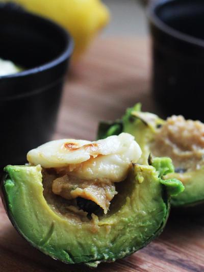 トロ~り炙り味噌チーズde焼アボガド