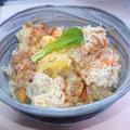 白菜と鶏ミンチのリメイク雑炊5分で簡単