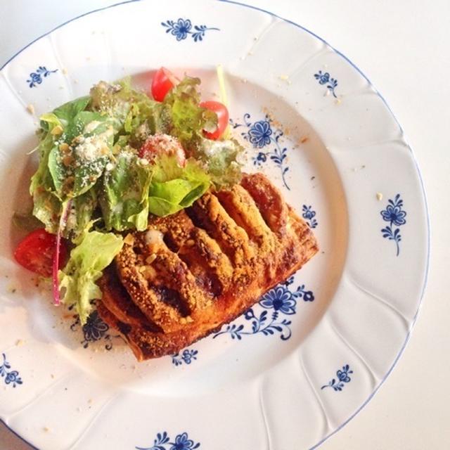 季節野菜のラタトゥイユチーズパイ