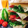お砂糖なしパンで☆鶏胸肉のカレー唐揚げチーズサンドイッチ by Misuzuさん