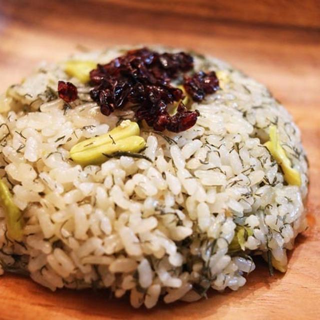 Recipe【イラン料理】バガリポロ