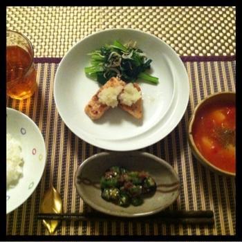 今日のお夕飯☆