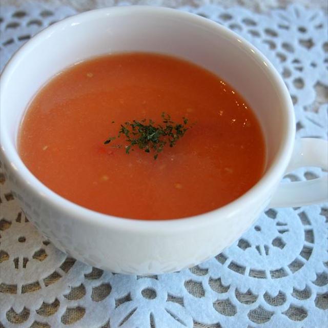 【あそれい日記】-1月レシピ-トマトのガスパチョ