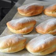 落ちない♪ズレない♪食べやすい♪二つ折りバンズパン