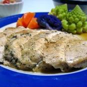 鶏ムネ肉のステーキ