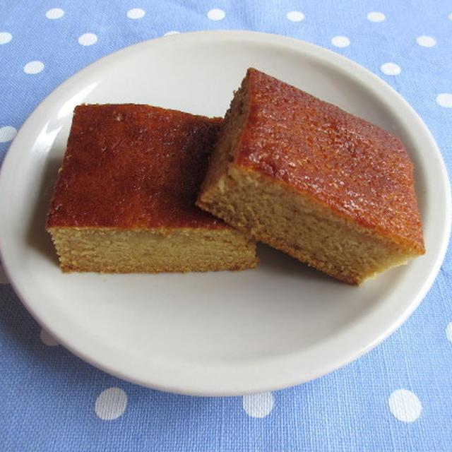 <イギリス・菓子レシピ> ジンジャー・スポンジ・ケーキ【Ginger Sponge Cake】