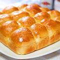 塩バターちぎりパン【フードプロセッサーで楽々♪】