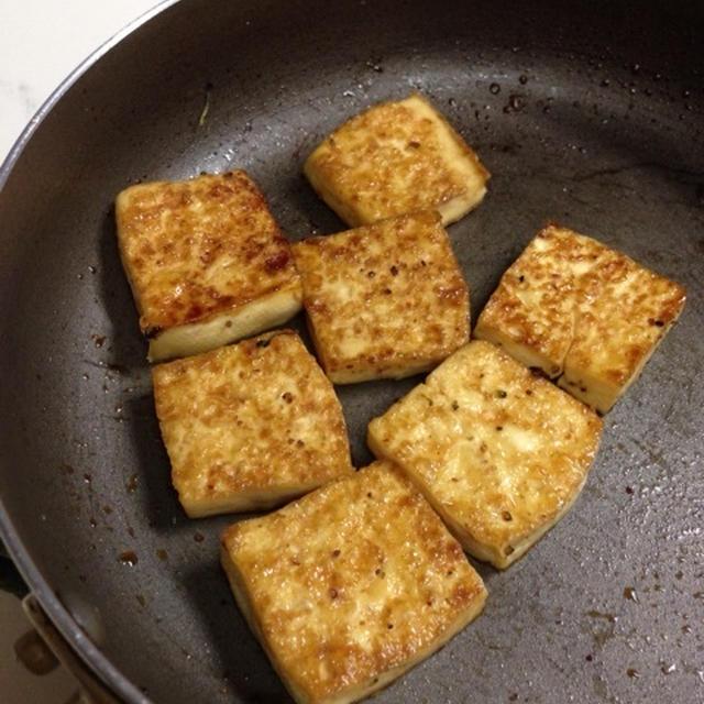 焼き豆腐\(//∇//)\