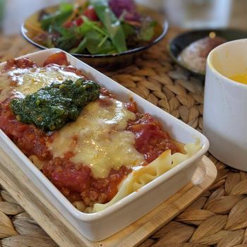 料理教室〜3種のソースでラザニアランチ〜