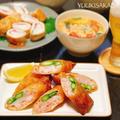 お酒にぴったりハマる!ついつい食べちゃうエビアスパラの、おつまみ春巻きレシピ!