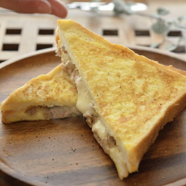*とろ~りチーズのクロックムッシュ*