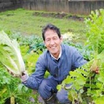 自然農法の野菜をお届けします