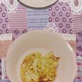 ポークソテーの玉ねぎとマスタードソース