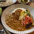 ♡レンジdeひき肉とトマトのカレー♡【#簡単レシピ#時短#節約#挽肉#レンチン】