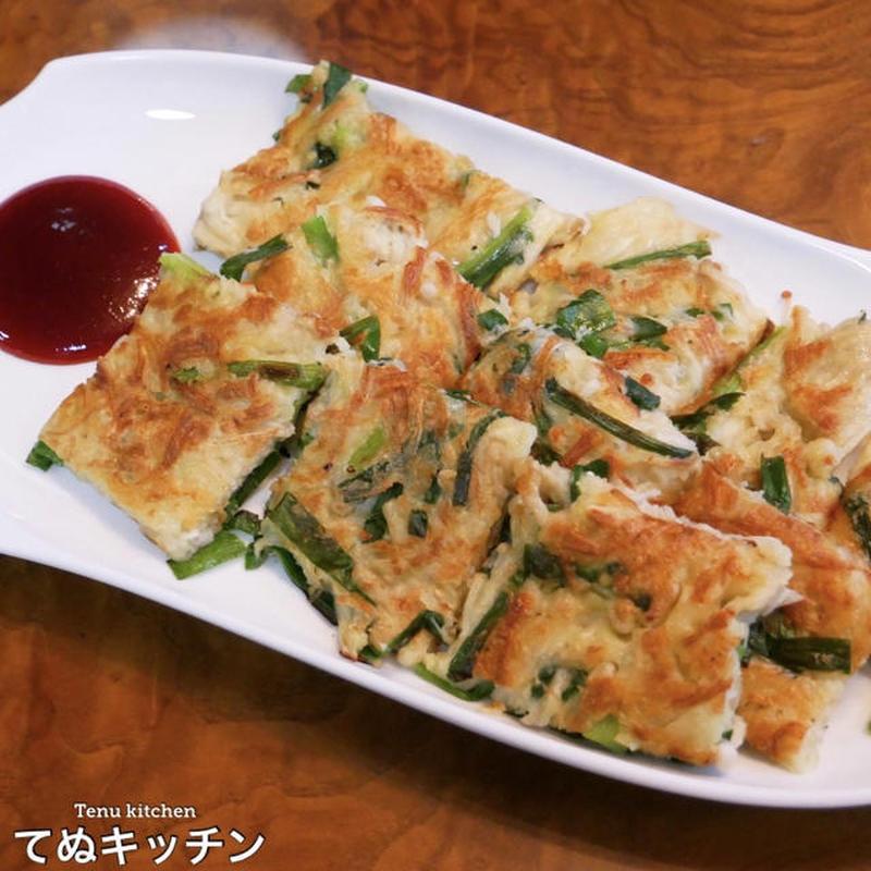 食感も栄養もプラス!混ぜて焼くだけ「えのきチヂミ」の簡単レシピ