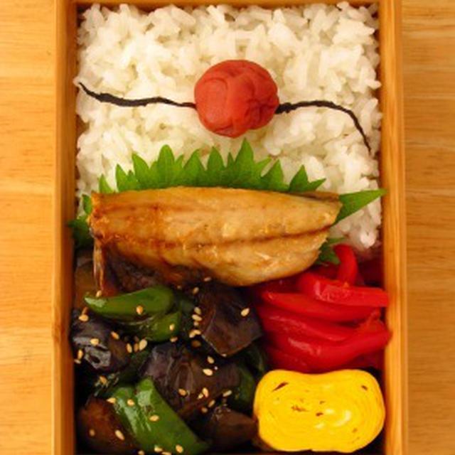 茄子ピーマン醤油炒め