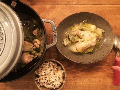 消化力アップに!レモングラスの鳥スープ
