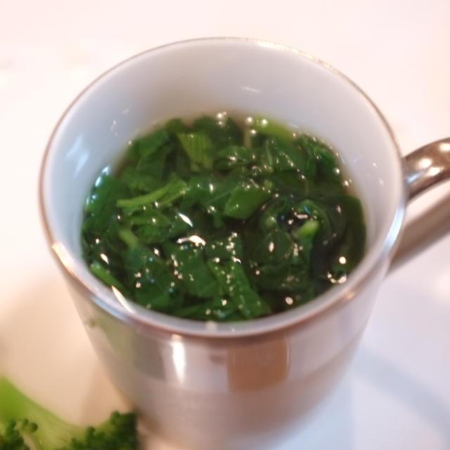 モロヘイヤの和風冷製スープ♪