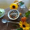 牡蠣&かぼちゃのドリア~パクチー風味