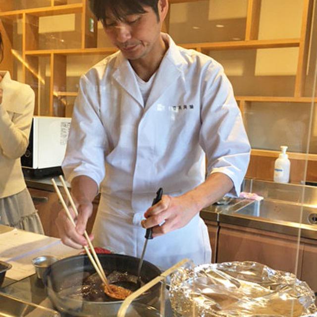 日新製糖 × 賛否両論 笠原将弘シェフ 「きび砂糖を使用した料理教室」