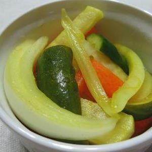 残り野菜でカレーピクルス