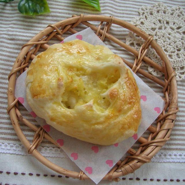手作りパン★旬じゃがチーズパン★