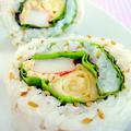 簡単!カラフルサラダ巻き寿司
