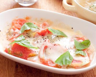 レンジで☆トマトチーズ焼き