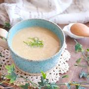 大好評レシピ♪長芋と卵の優しい和風スープ(即席雑炊も楽しめます)