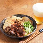 メシ通!フライパンで鶏レバー豆腐