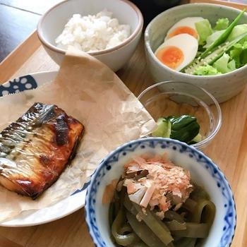 福岡ごはん「おきゅうと」で朝ごはん。