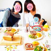 9月26日のお料理教室レポ♡抹茶の手ごねパンと野菜たっぷりデリ♡10月のレッスン案内。