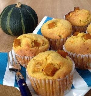 素材を楽しむ♪素朴な味わいが魅力の「かぼちゃマフィン」