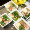 ■【春を奏でる 寒天寄せ】これ!うま!!つゆで ぱぱっ!と格調高い季節の前菜を♪ by あきさん