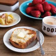 休日朝ごはんと、ブレッドナイフと今日のレシピ