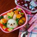レンジで簡単♪シナモン香るオバケかぼちゃ * スパイス大使 & 芋ほり遠足弁当