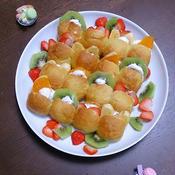 フルーツたっぷりちぎりパン