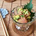 【レシピ】はちみつ梅でおつまみ*まぐろのポキ風