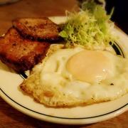 【居酒屋】 ホタルイカと筍のペペロンチーノ と 生クリームたっぷりケーキ
