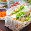 NEXTチキン(大豆ミート)で萌え断サンド