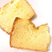 リンゴ&シナモンのパウンドケーキ☆混ぜるだけで簡単@ケーキのようなホットケーキミックス