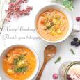 冷凍むきエビで濃厚食べるビスク風スープ