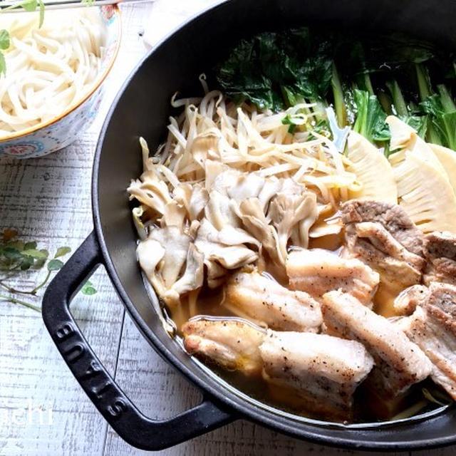 豚バラ肉の中華鍋♡