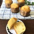 【焼くまで5分】材料4つ!バニラアイスでカップケーキとドラえもんのお知らせ
