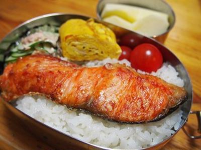鮭 弁当 レシピ 冷凍