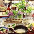 【レシピ】半夏生なので たこ飯 たこなのでソース味のおかず。