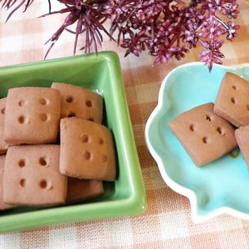 アメーバトピックス掲載^^片栗粉でチョコクッキー&白玉粉でポンデケージョ