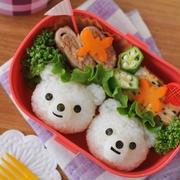 白熊オニギリのお弁当