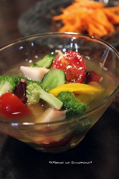 蛸と野菜の「酢のもの」