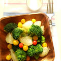 文旦とブロッコリーのサラダ☆